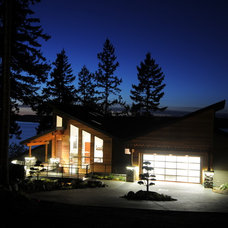 Contemporary Exterior by Signature Design & Cabinetry LLC