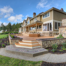 Traditional Exterior by RGN Construction