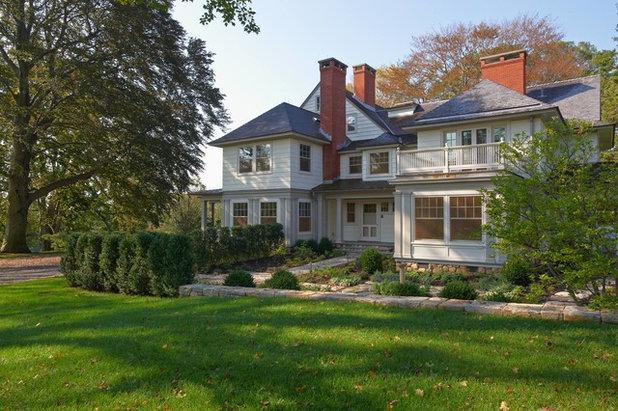 Farmhouse Exterior by Devore Associates