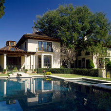 Mediterranean Exterior by David Easton Inc.