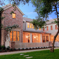 Traditional Exterior by Parker Stuckey Residential Design