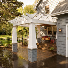 Traditional Exterior by Southview Design
