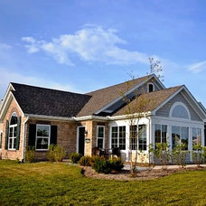 Traditional Exterior by Wilcox Communities