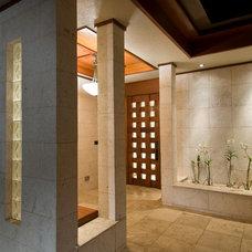 Contemporary Exterior by Lapis Design Partners