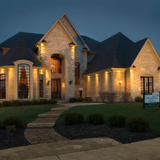 Traditional Exterior by King's Court Builders, Inc.