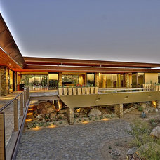 Contemporary Exterior by Sever Design Group Architects, Inc