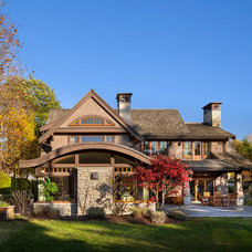 Craftsman Exterior by Peter Rose Architecture and Interiors