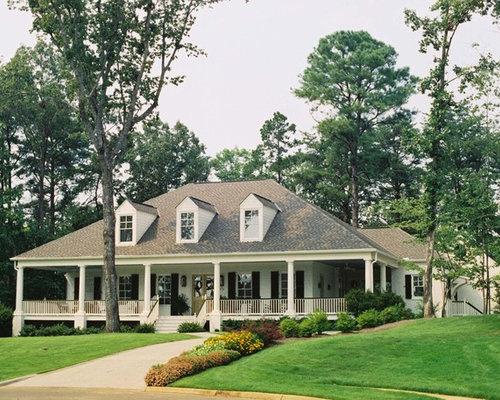 acadian home wraparound porch - Acadiana Home Design