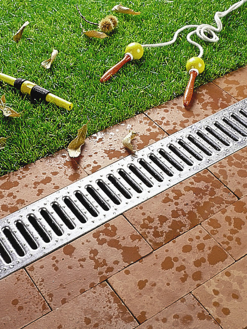 Aco markant drainage products for residential applications for Residential stormwater drainage solutions