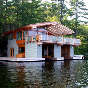 Acton Island Boathouse