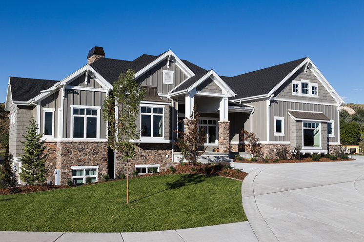 Craftsman Exterior by Sierra Homes Construction