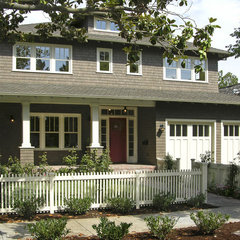 traditional exterior by square three design studios