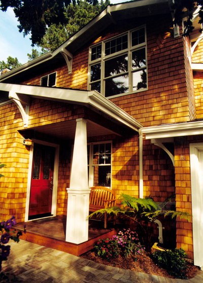 Craftsman Exterior by Thomas Saxby Architect