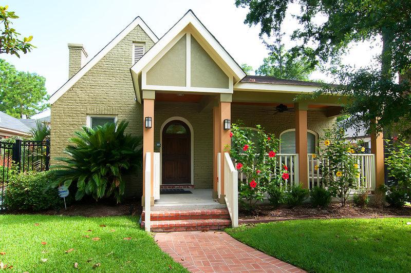 traditional exterior by Greymark Construction Company