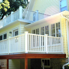 Traditional Exterior by New England Design & Construction