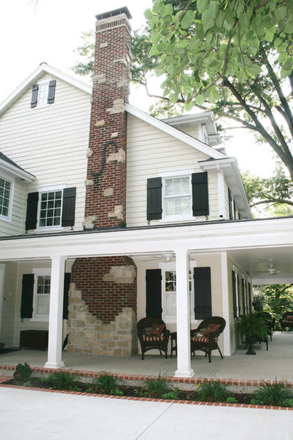 Traditional Exterior by Agape Construction