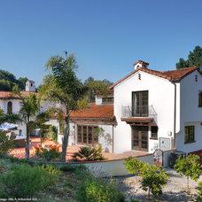 Mediterranean Exterior by EASA Architecture