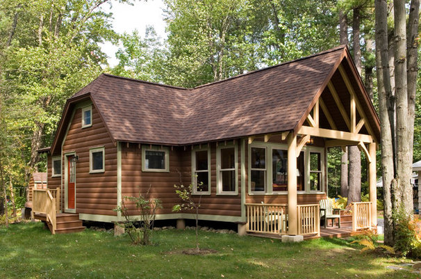 Rustic Exterior by Schrader and Company, Inc.