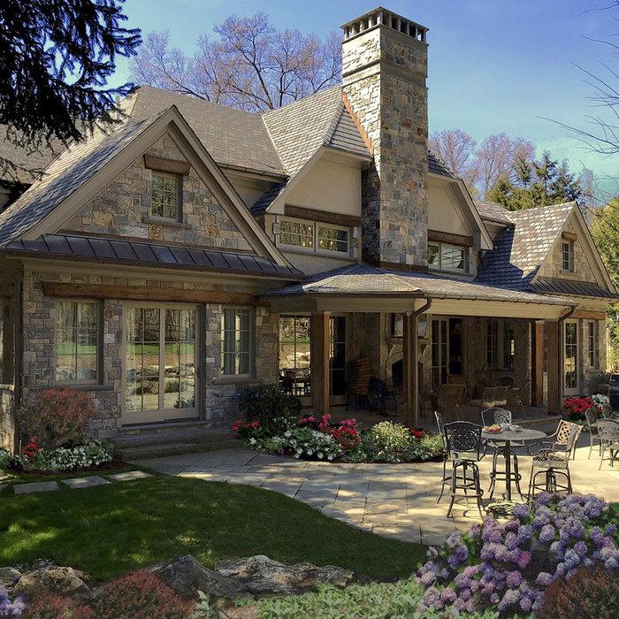 Adirondack Timber Home