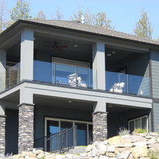 Contemporary Exterior by Falcon Railing and Superdeck