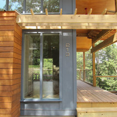 modern exterior by Bork Architectural Design, Inc.
