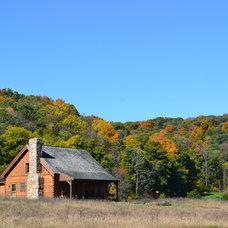 Traditional Exterior Afton Virginia Cabin