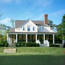 Farmhouse Exterior by Hart Associates Architects, Inc.