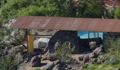 Архитектура: Дом-легенда с валуном внутри