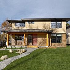 Contemporary Exterior by Habitat Studio