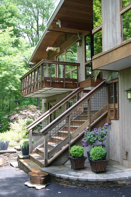 Rustic Exterior by Magee Design