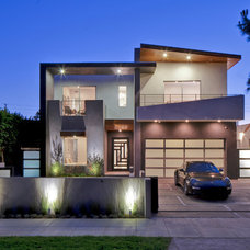 Contemporary Exterior by Boswell Construction