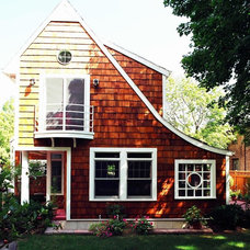 Eclectic Exterior by Bud Dietrich, AIA