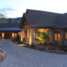 Exterior by Living Stone Construction, Inc.