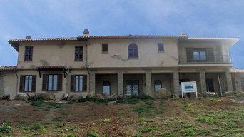 Almaden Valley Tuscan House: Custom Authentic Italian Windows and Doors