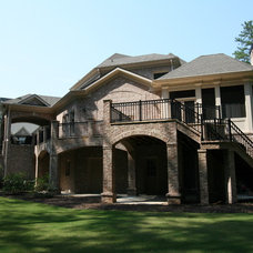 Traditional Exterior by Keystone Remodeling Grp, LLC