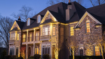 Alpharetta, GA House and Backyard Lighting Project
