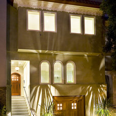 Eclectic Exterior by Design Solutions