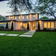Modern Exterior by ICF Custom Homes