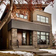 Contemporary Exterior by Veranda Estate Homes & Interiors