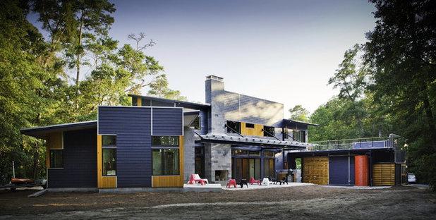 Contemporary Exterior by B + O design studio, pllc