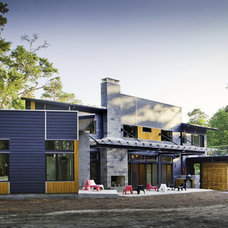 Contemporary Exterior by B + O design studio, pllc