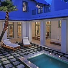 Tropical Exterior by Gary Justiss Architect
