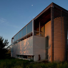 Contemporary Exterior by David Ling Architect