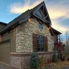Traditional Exterior by Coronado Stone Products