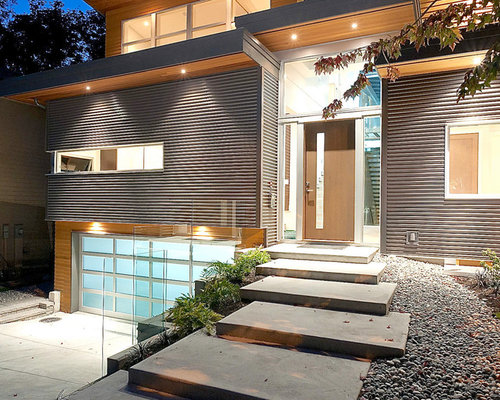 Concrete Slab Stairs Ideas Pictures Remodel And Decor