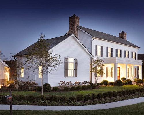 Farmhouse Nashville Exterior Design Ideas Remodels Photos