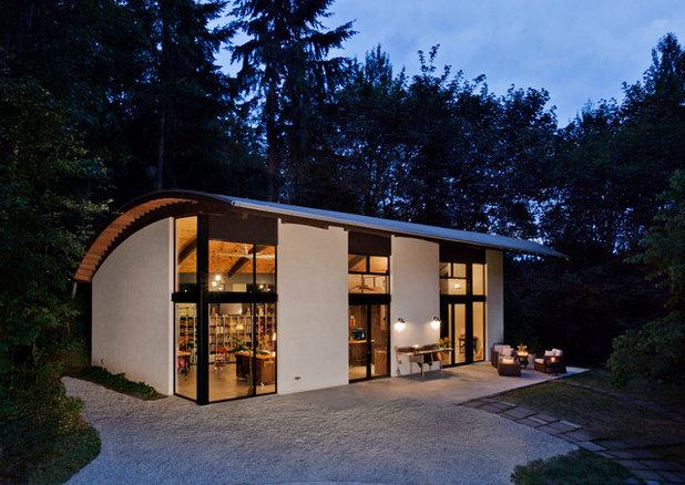 Contemporary Exterior by Calico Studio