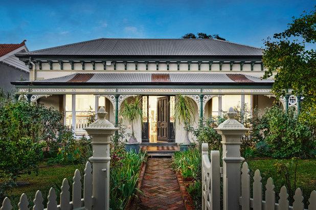 Victorian Exterior by Ampson Developments, Design & Construction.