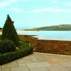 Mediterranean Exterior by AMS Landscape Design Studios, Inc.