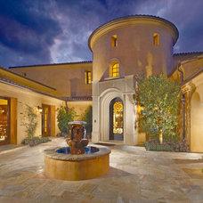 Eclectic Exterior by AMS Landscape Design Studios, Inc.
